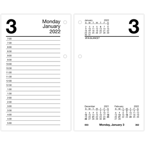 At-A-Glance Monthly Desk Calendar Refill with Monthly Tabs AAGE717T50