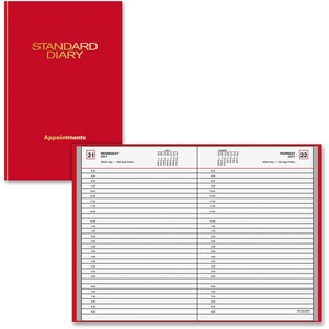 At-A-Glance Standard Diary Appointment Book AAGSD90713