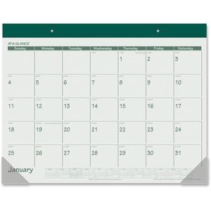 At-A-Glance Monthly Fashion Desk Pad Calendar AAGSK2503