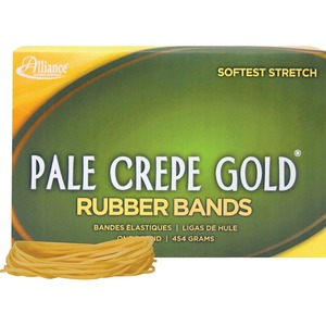 Alliance Rubber Pale Crepe Gold Rubber Bands ALL20195