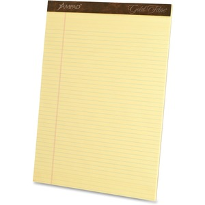 Ampad Gold Fibre Premium Legal-ruled Writing Pad ESS20020