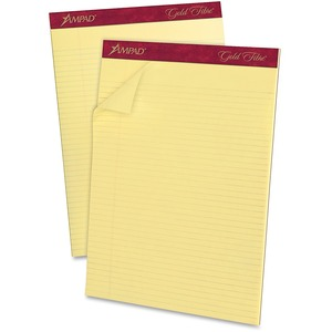 Ampad Gold Fibre Premium Narrow-ruled Writing Pad ESS20022