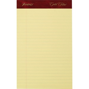 Ampad Gold Fibre Premium Jr. Legal Writing Pad ESS20029