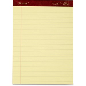 Ampad Gold Fibre Premium Legal/wide-ruled Writing Pad ESS20032