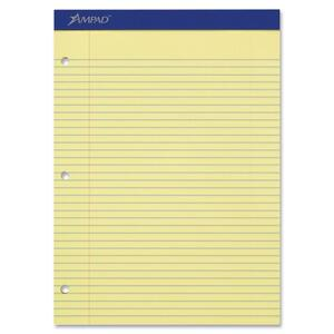 Ampad Double Sheet College-ruled Writing Pad ESS20223