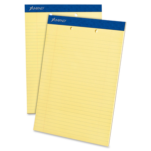 Ampad Legal-ruled 2-hole Writing Pad ESS20224