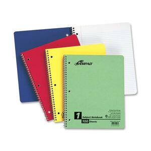 Ampad 1-Subject Wirebound Notebook ESS25007