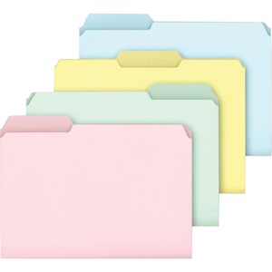 Ampad Pastel Color File Folder ESSC2113PASR