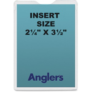 Anglers Pressure-Sensitive Vinyl Envelopes ANG1404P10