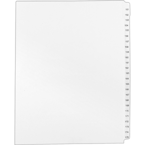 Avery Legal Exhibit Reference Divider AVE01336