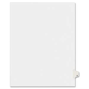 Avery Individual Legal Divider AVE01424