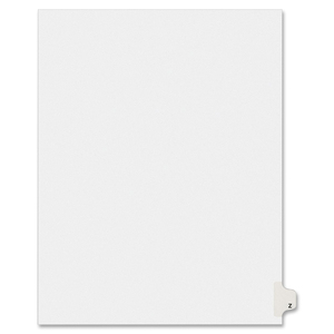 Avery Individual Legal Divider AVE01426