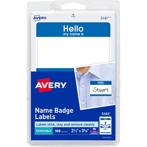 Avery Name Badge Label AVE5141