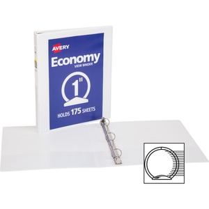Avery Economy View Round Ring Reference Binder AVE05760