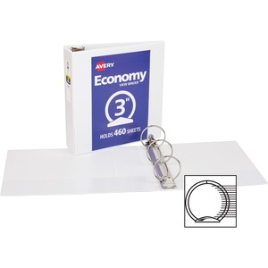 Avery Economy View Round Ring Reference Binder AVE05800