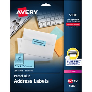 Avery High Visibility Labels AVE5980