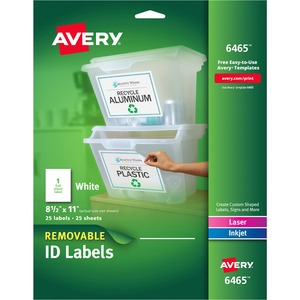 Avery Removable Label AVE6465