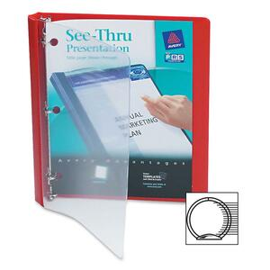 Avery See-Thru Presentation View Binder AVE10803