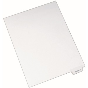 Avery Individual Bottom Tab Legal Exhibit Dividers AVE12398