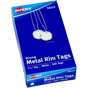 Avery Metal Rim Tag AVE14313