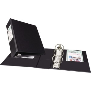 Avery Round Ring Binder With Label Holder AVE27554