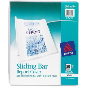 Avery Non-Slip Sliding Bar Report Cover AVE47710