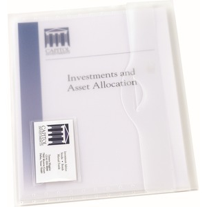 Avery Translucent Document Wallet AVE72278
