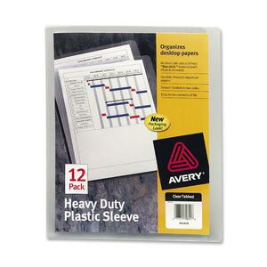 Avery Plastic Sleeve AVE72611