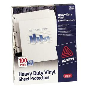 Avery Top Load Vinyl Sheet Protector AVE73899
