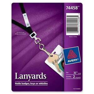 Avery Adjustable Safety Neck Lanyard AVE74458