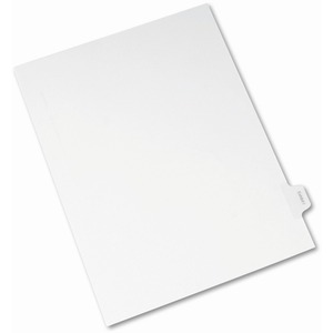 Avery Legal Exhibit Index Divider AVE82115