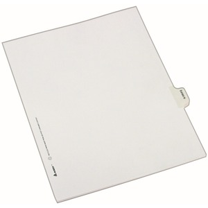 Avery Legal Exhibit Index Divider AVE82120