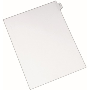 Avery Legal Exhibit Index Divider AVE82127
