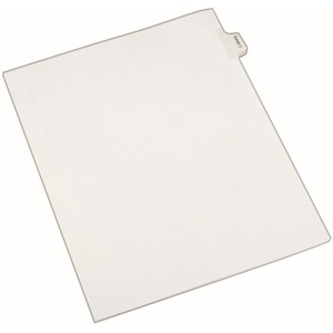 Avery Legal Exhibit Index Divider AVE82128