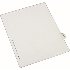 Avery Legal Exhibit Index Divider AVE82129