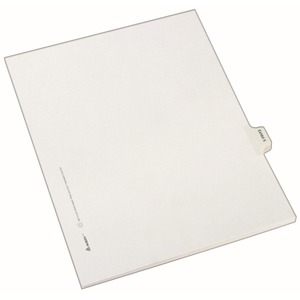 Avery Legal Exhibit Index Divider AVE82130