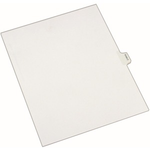 Avery Legal Exhibit Index Divider AVE82132