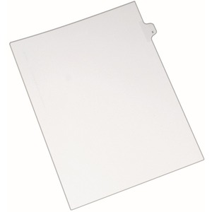Avery Individual Legal Tab Divider AVE82167