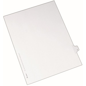Avery Individual Legal Tab Divider AVE82168