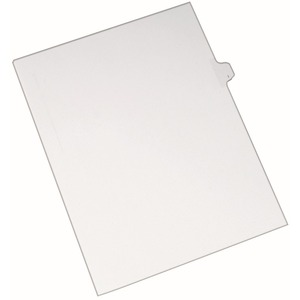 Avery Individual Legal Tab Divider AVE82171