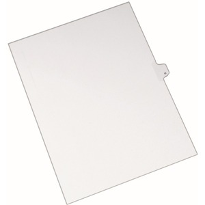 Avery Individual Legal Tab Divider AVE82175