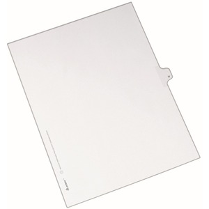 Avery Individual Legal Tab Divider AVE82176