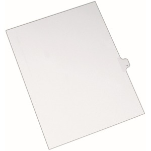 Avery Individual Legal Tab Divider AVE82178