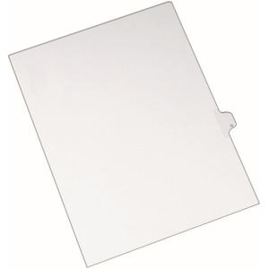 Avery Individual Legal Tab Divider AVE82179