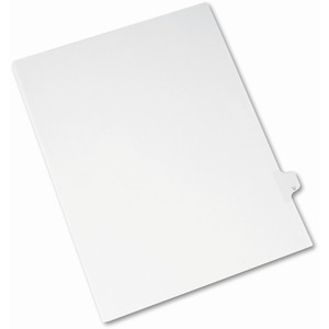 Avery Individual Legal Tab Divider AVE82183