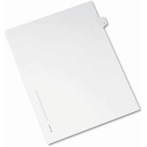 Avery Individual Legal Tab Divider AVE82184