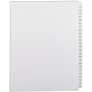 Avery Side Tab Collated Legal Index Dividers AVE82189