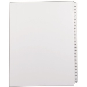Avery Side Tab Collated Legal Index Dividers AVE82190