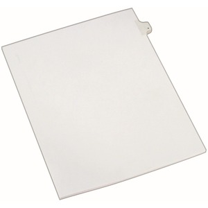 Avery Side-Tab Legal Index Divider AVE82202