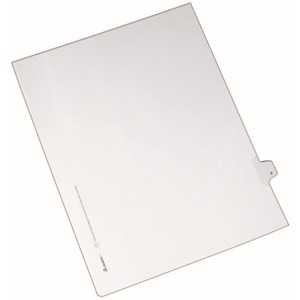 Avery Side-Tab Legal Index Divider AVE82204